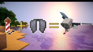 Как бесконечно летать на элитрах в minecraft с помощью фейерверков (на ПК и на телефоне)