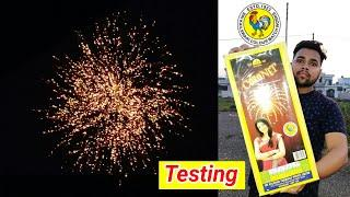 Coronet Sky Shot From Cock brand fireworks | Cracker Testing With Price Review | Sky shot for diwali