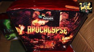 Apocalypse 30 Shots Vuurwerk Cake  Salon Roger Fireworks