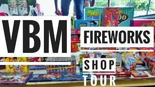 VBM rasi fireworks shop tour