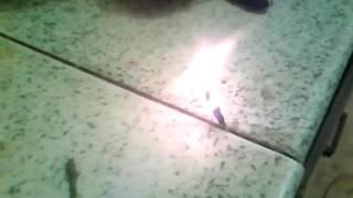Бенгальские огни своими руками.