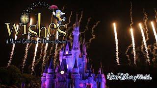 2015-04-25 Wishes Fireworks Complete Show HD Magic Kingdom Walt Disney World