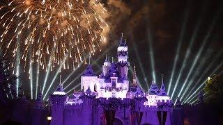 Disneyland Christmas Fireworks Show! | Believe in Holiday Magic Fireworks