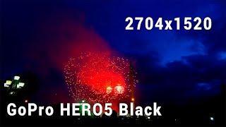 Салют (GoPro HERO5 Black). Освобождение Минска. 3 июля. AllVideo.