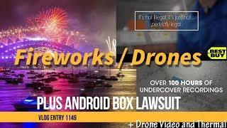 Fireworks or Drone Light Shows Plus Retailers Android TV Box With Kodi