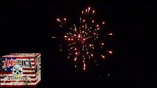 Legend Fireworks: America Burnout 500g DEMO