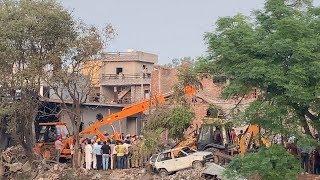 Massive Bomb Blast In Batala | Blast In Fireworks Factory In Batala | Rajan Luthra