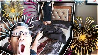 FIREWORKS PRANK ON GIRLFRIEND GONE WRONG!!!
