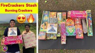 BURNING NEW COCK BRAND CRACKERS | BIGGEST FIREWORKS STASH 2019 |