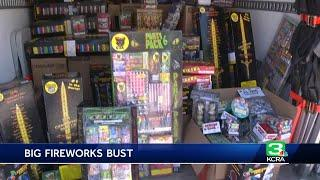 Cal Fire seizes more than 140K pounds of illegal fireworks