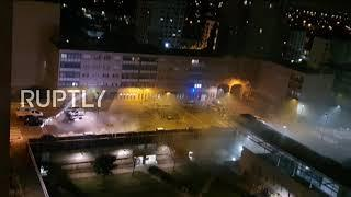 France: Police station in Parisian suburbs attacked by fireworks