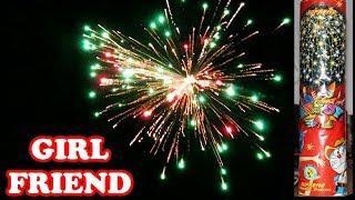 GIRLFRIEND from Supreme Fireworks - Medium Skyshot Shell