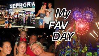 shopping at Sephora and watching the fireworks!!