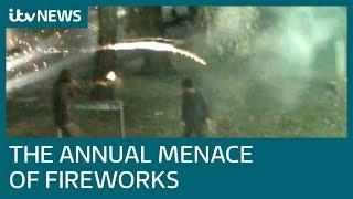 Emergency service workers concerned over fireworks attacks | ITV News
