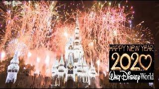 New Years Eve Fireworks Walt Disney World 2020 | Magic Kingdom Fantasy In The Sky Full Show