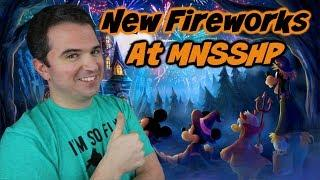 New Mickey's Not-So-Scary Halloween party Fireworks
