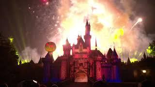 2018 Halloween Screams! - Mickey's Halloween Party Fireworks At Disneyland [4K] FULL SHOW