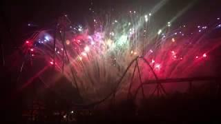 Canada's Wonderland Labour Day Fireworks 2019