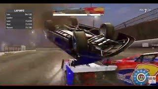 Dr. Pepper Dirt Series Race 8 Eldora  2/28/19 37:20 car over me