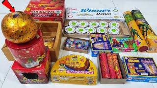 New And Different types of Crackers Diwali New Crackers stash testing Fireworks stash testing 2021