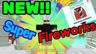 New Update!! : Super Fireworks  : All Star Tower Defense
