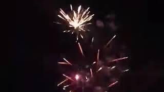 Салюты на Старый новый год.АЛАГИР