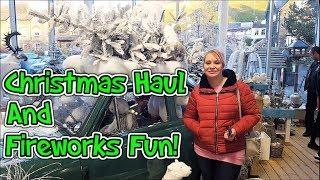 Christmas Haul + Fireworks Fun!