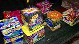 Lighting Fireworks at the Firework Store!