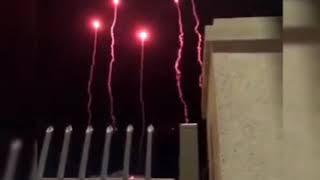 Test Fireworks for BTS concert in Rose bowl stadium// rose bowl stadium