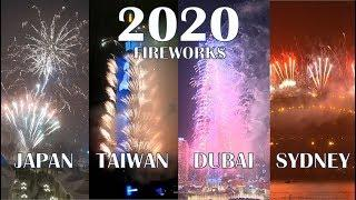 [COMPILATION]  2020 FIREWORKS DISPLAY AROUND THE WORLD | New Year 2020