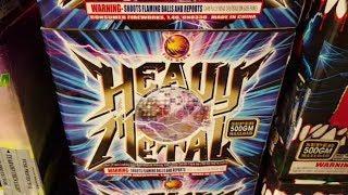 Fireworks Demo (500 Gram Cake) - Heavy Metal (Firehawk)