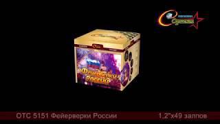 Батарея салютов Фейерверки России (ОТС 5151)