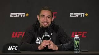 Robert Whittaker Expects Fireworks Against Kelvin Gastelum | UFC Vegas 23