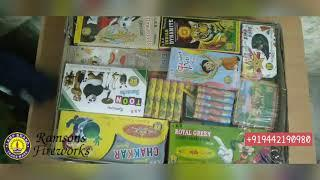 50 Items Crackers box unboxing / Ramsons Fireworks Sivakasi