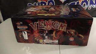 VENOM - 500G CAKE - LEGEND BRAND FIREWORKS