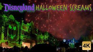"Disneyland ""Halloween Screams"" 2021 4K Fireworks & Projection Show"