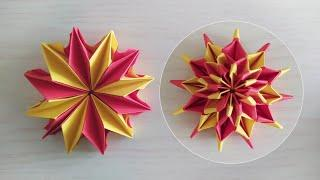 Origami fireworks | Step by step