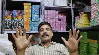 Fireworks shop in Delhi Diwali crackers shop Ravan dashara