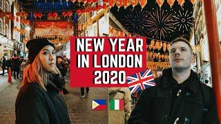 WE SAW THE LONDON NEW YEAR FIREWORKS FOR FREE // London Vlog 2020