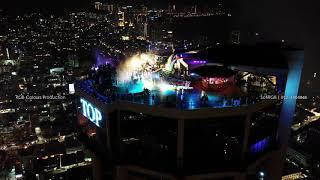 Komtar Penang CNY 2019 fireworks videol - dji mavic2pro