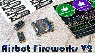 ✔ Полетный Контроллер Airbot Omnibus Fireworks V2 + Регуляторы Airbot Wraith32 Mini V2 35A ESC!