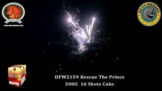 """Rescue The Prince! 200 Gram Cake by """"Doremi Fireworks"""" NEW FOR 2021!"""
