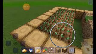 как сделать огород в майнкрафте. Очень легко.