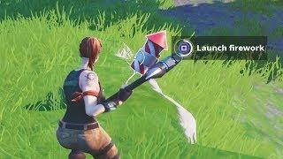 Launch Fireworks Challenge Guide - Fortnite Battle Royale
