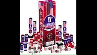 """5"""" CANISTER SHELLS - RACCOON FIREWORKS"""