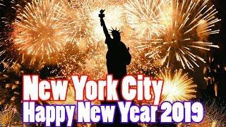 New York City New Years Eve 2019 | New Year's Eve Fireworks in NYC