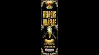 "5"" WEAPONS OF WARFARE - PYROLAND FIREWORKS"