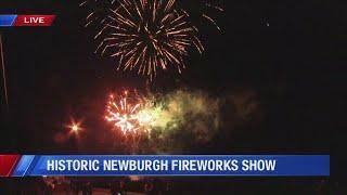 Historic Newburgh fireworks show