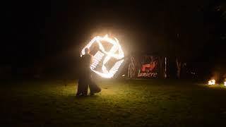Огненное пиротехническое шоу Kashmir (пиротехника + огнеметы + sparkie) Алматы