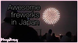 SUMMER FIREWORKS FESTIVAL|JAPANESE SUMMER TRADITION |浦安花火大会| Vlog#131